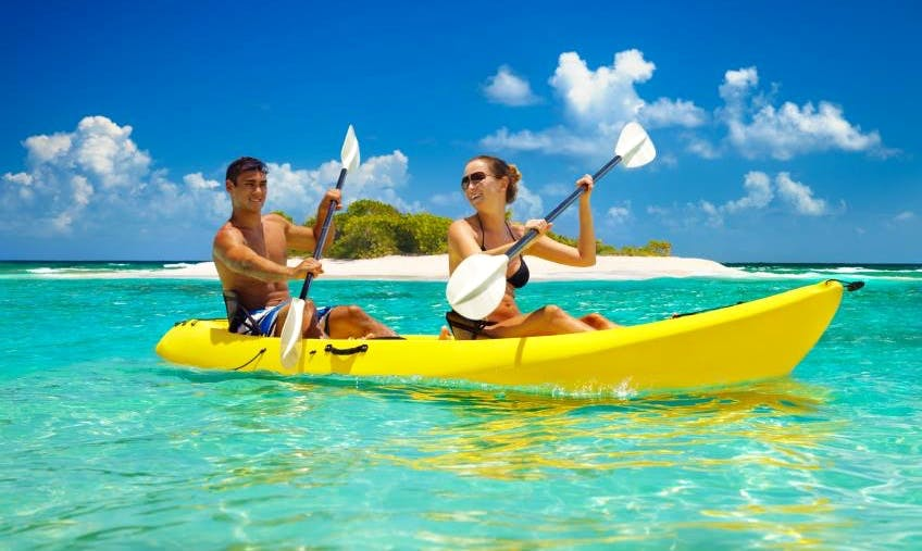 Double Kayak Rentals in Carles, Philippines