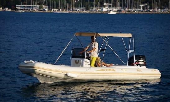 Rent 26' Bsc 65 Rigid Inflatable Boat In Porto Pino, Sardegna