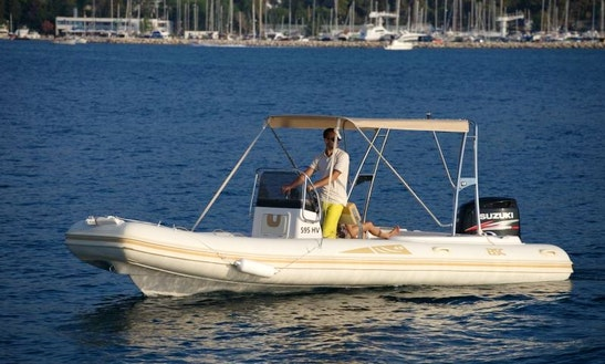 Rent 26' Bsc 65 Rigid Inflatable Boat In Porto Pino, Sardegna