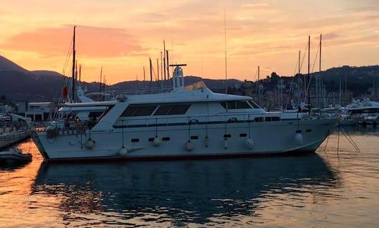 Cinque Terre Tour With Dea Tuda Motor Yacht In La Spezia, Italy