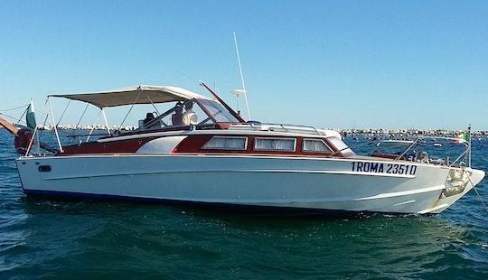 Cinque Terre With Speranzella Vintage Motor Boat, Italy