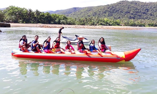 Enjoy Banana Rides In Baler, Philippines