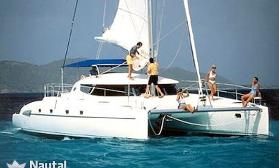 Charter 46' Bahia Cruising Catamaran In Egadi, Sicilia
