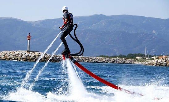 Enjoy Flyboarding In Saint-cyprien, France
