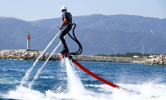 Enjoy Flyboarding In Saint-cyprien, France