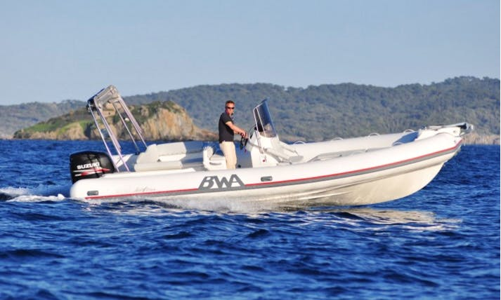 Rent 26' Rigid Inflatable Boat in Toulon, France