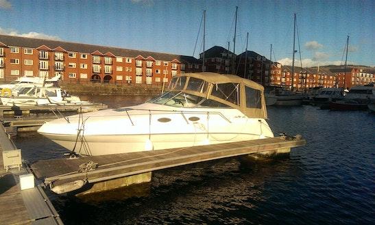 Motor Yacht Sleep Aboard Rental In Swansea