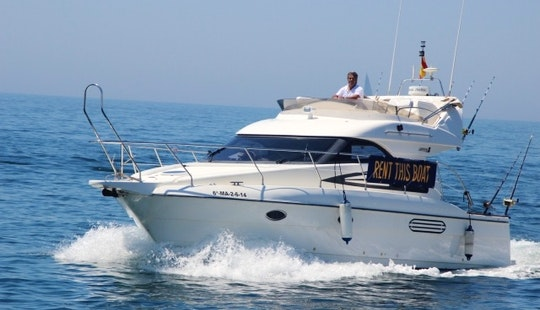 Fishing Charter On 38' Astonda As Cuddy Cabin In Marbella, Spain
