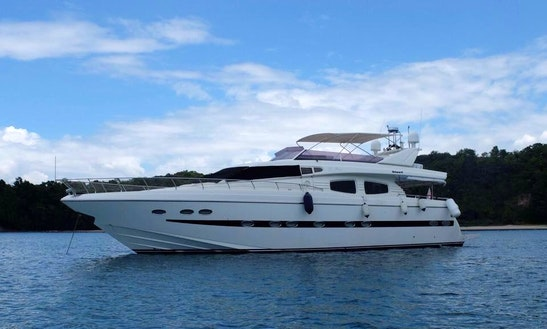 Charter 70' Le Boss Power Mega Yacht In Subic, Central Luzon