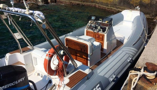 Rent A Rigid Inflatable Boat In Praiano, Campania