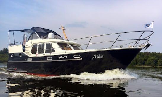 Charter 34' Concordia 105 Ac Motor Yacht In Rheinsberg, Germany