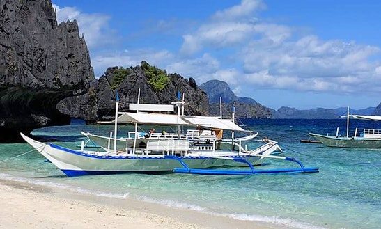 Charter Traditional Boat In Paracale, Bicol For 40 Pax