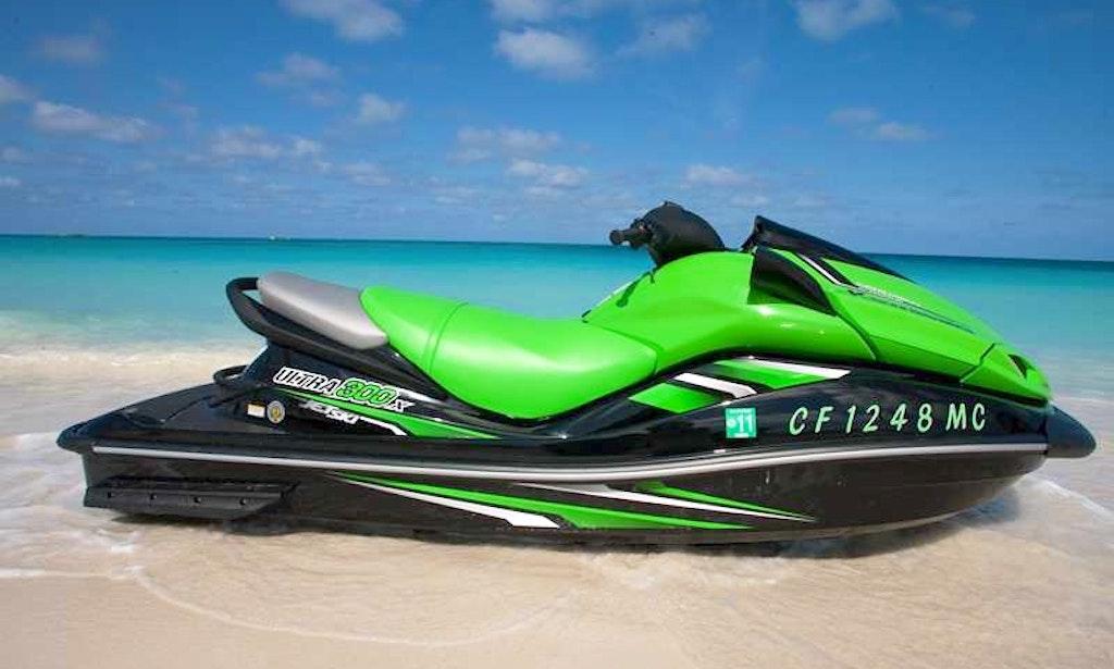 Rent 10' Kawasaki Ultra Jet Ski Sainte-Maxime, Provence-Alpes-Cô