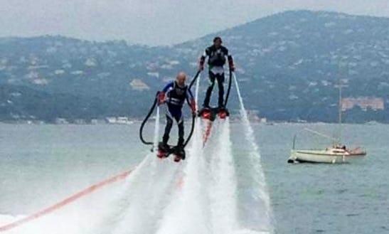 Enjoy Flyboarding In Sainte-maxime, Provence-alpes-côte D'azur