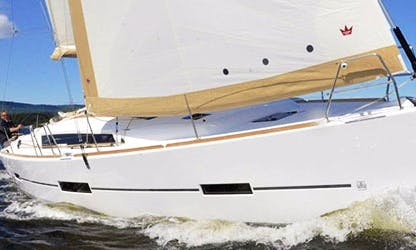 Dufour 412 Sailing Yacht Charter in Barcelona
