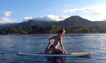 SUP Yoga in Jacó