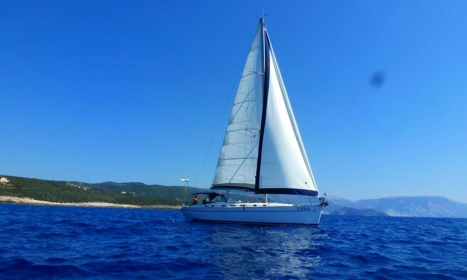 "Captain Charter On 50ft ""Micamale"" Beneteau Cyclades Cruising Monohull In Guna Yala, Panama"