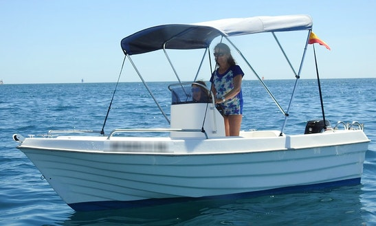 13' Dipol 450 Center Console Rental In Alacant, Spain