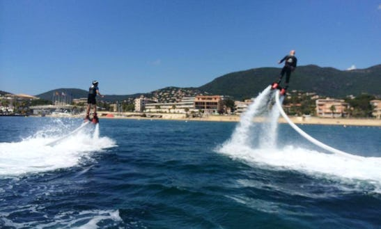 Enjoy Flyboarding In Cavalaire-sur-mer, France