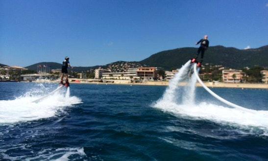 Enjoy Flyboarding In Cavalaire-sur-mer, France