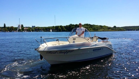 Rent 19' Quicksilver 525 Commander Center Console In Berlin, Germany