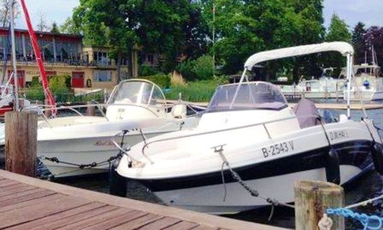 Rent 18' Prins 555 Open Bowrider In Berlin, Germany
