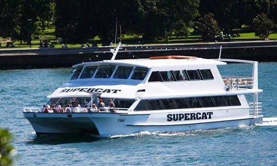 Charter 66' Supercat Power Catamaran in Glebe, Australia