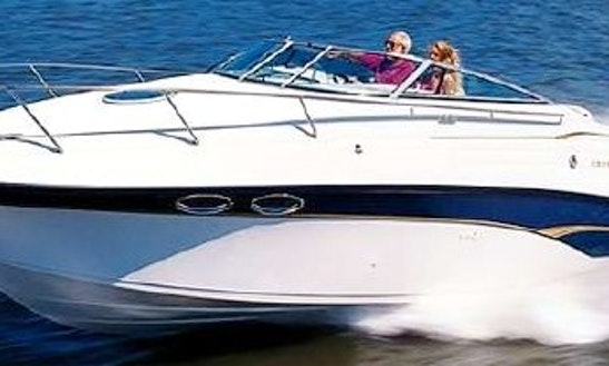 Charter 24' Crownline 265 Motor Yacht In Foz Do Sousa, Portugal