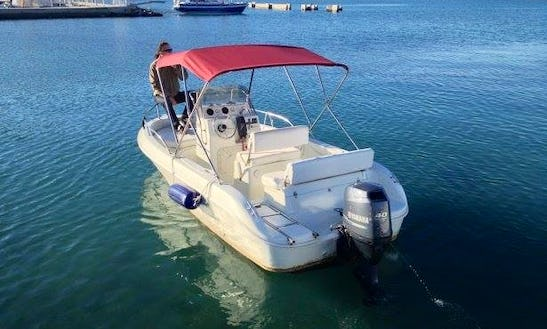 Rent 18' Quicksilver Center Console In Dubrovnik, Croatia