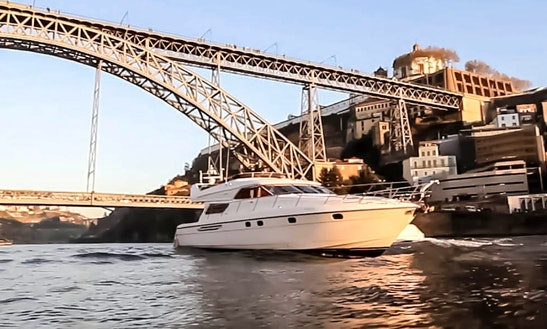Charter 60' Princess Power Mega Yacht In Porto, Portugal