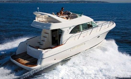 Charter 36' Jeanneau Prestige Motor Yacht Rental In Dubrovnik, Croatia
