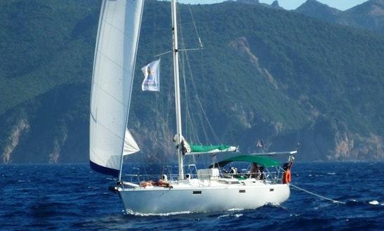 Charter 41' Oceanis 430 Cruising Monohull In Santa Maria Di Lota, France