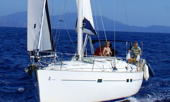 Charter 42' Oceanis 411 Cruising Monohull In Santa Maria Di Lota, France