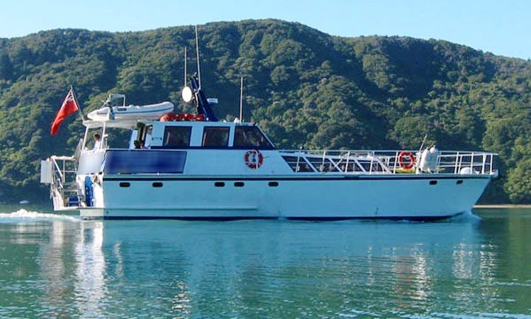 Charter 60' Foxy Lady Power Mega Yacht Yacht in Havelock, New Zealand