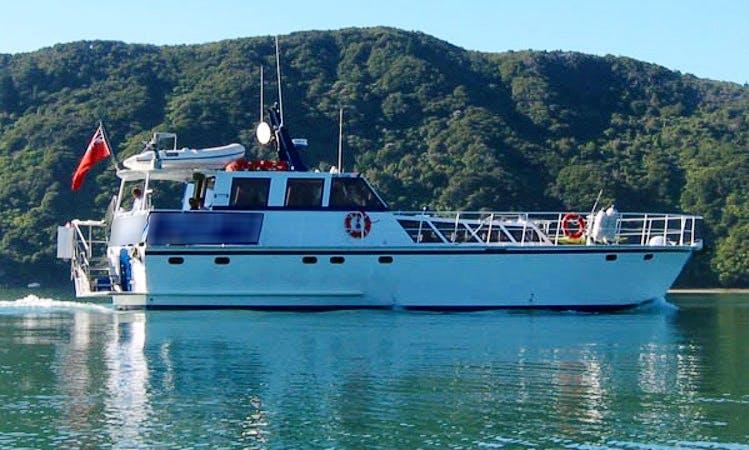 Charter 60' Foxy Lady Power Mega Yacht Yacht in Havelock, New Zealand