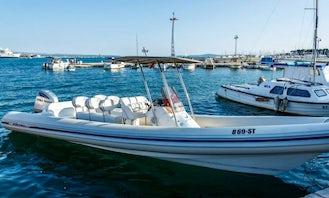 10 People RIB Ready to Rent in Split, Split-Dalmatia County