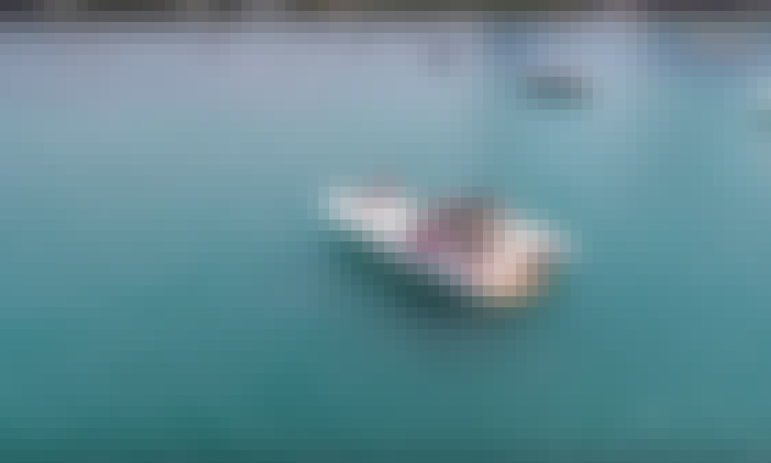 44' Luxury Sundancer Yacht Rental! Includes Floating Island!