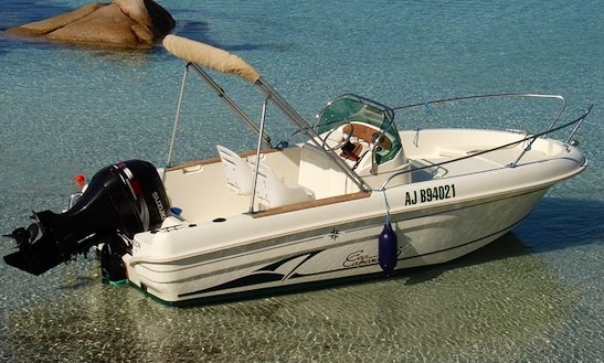 Rent 17' Cap Camrat Center Console In Porto-vecchio, France