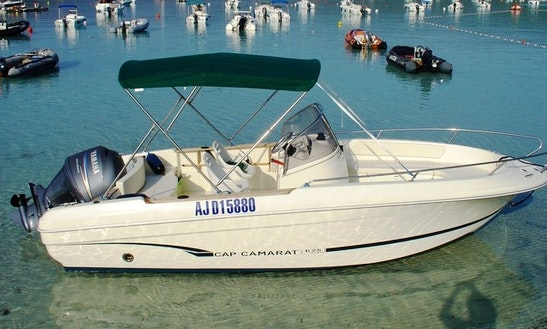 Rent 20' Cap Camrat Center Console In Porto-vecchio, France