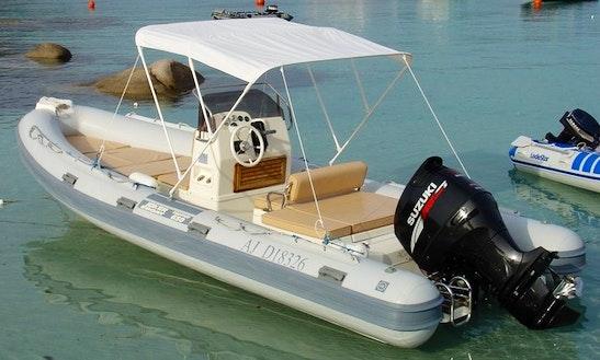 Rent 21' Joker Boat Rigid Inflatable Boat In Porto-vecchio, France