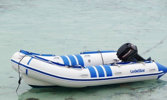 Rent Lodestar Semi-rigid Inflatable Boat For 4 People In Porto-vecchio, France