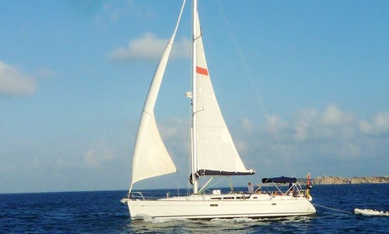Charter 45' Sun Odyssey 45 Cruising Monohull In Santa Maria Di Lota, France