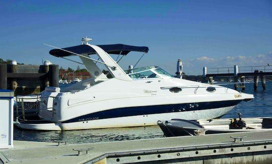 Rent 24' Cruiser Motor Yacht In Putney, Australia