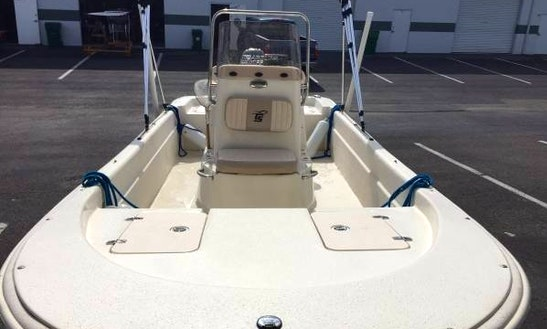 17' Carolina Skiff Rental In Tampa Bay Region