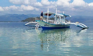 """Charter """"Oxy 1"""" Traditional Boat in Bais City, Philippines For 25 People"""