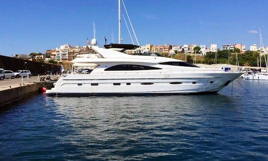 82' Astondoa Power Mega Yacht Charter In Barcelona, Spain
