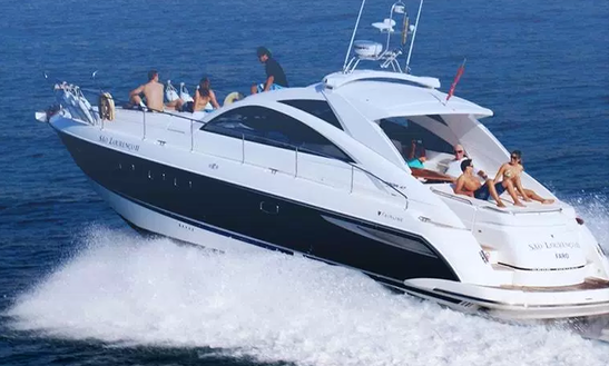Charter 47' Fairline Targa Motor Yacht In Quarteira, Portugal