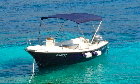 Rent Pasara Dinghy In Pag, Croatia