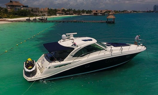 Sea Ray 50 Ft In Cancun To Isla Mujeres