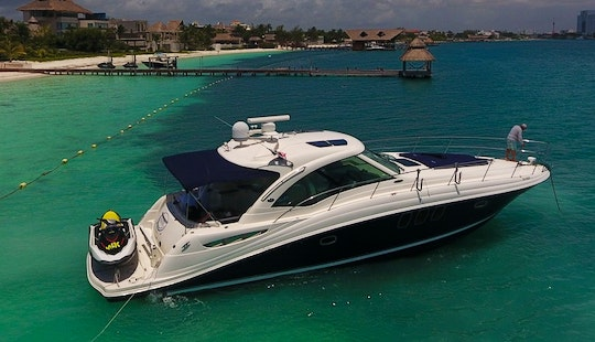Sea Ray 50 Ft In Cancun To Isla Mujeres In Mexico